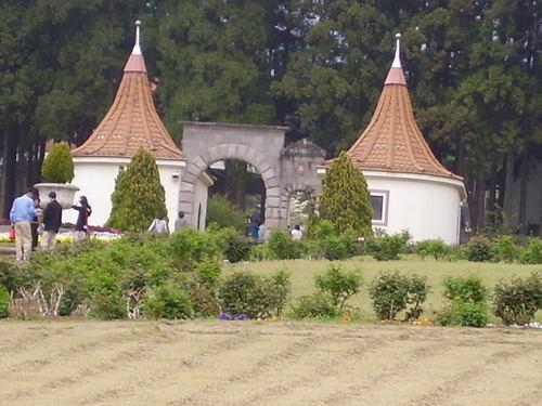 ドイツ風の建物