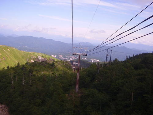 白根火山ロープウェイ2
