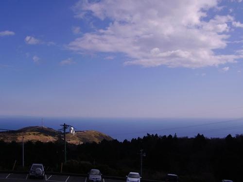 大観山から海をのぞむ