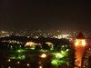 笛吹川フルーツ公園の夜景